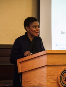 Alondra Nelson at University of Pittsburgh (March 2015)