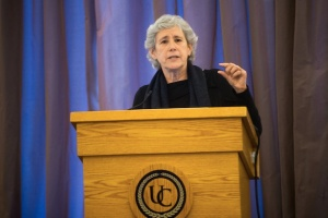 Lucy Suchman at University of Pittsburgh (Nov. 6, 2014)